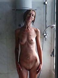 A shower before going to bed