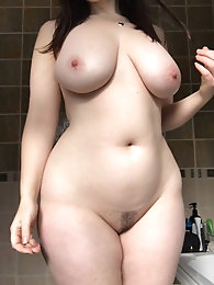 Filthy older whore with enormous melons