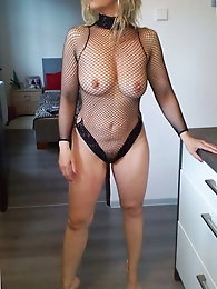 Slim mature whores are playing with their boobs